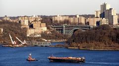 Spuyten Duyvil Swing Bridge & Henry Hudson Bridge (Harlem River) (jag9889) Tags: bridge ny newyork puente crossing bronx manhattan bridges ponte pont hudsonriver brcke 2008 inwood wahi harlemriver inwoodite y2008 jag9889