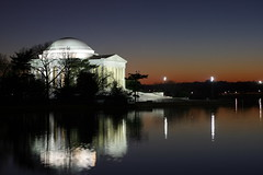 Jefferson at night (Jon's snaps) Tags: sunset water canon reflections 50mm dc washington memorial dusk oneofakind basin explore jefferson f18 coolest tidal nigh explored twtme xti 400d anawesomeshot anawsomeshot simplythebests focuslegacy dfpro
