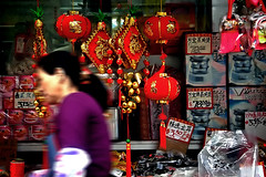 red vibe (.michaelchung) Tags: street new nyc newyorkcity red newyork store chinatown year chinese grand michaelchung grocery lunar happynewyear  latterns kungheifatchoy