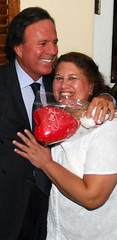 Julio Iglesias and Zaida Ahmed