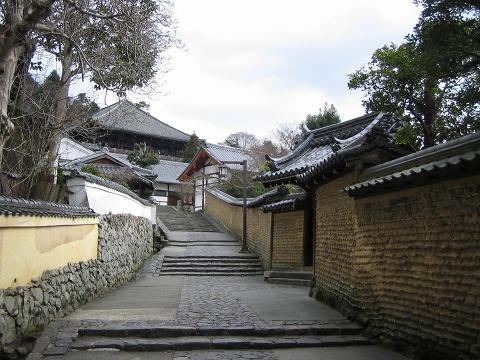 二月堂-近くの石段