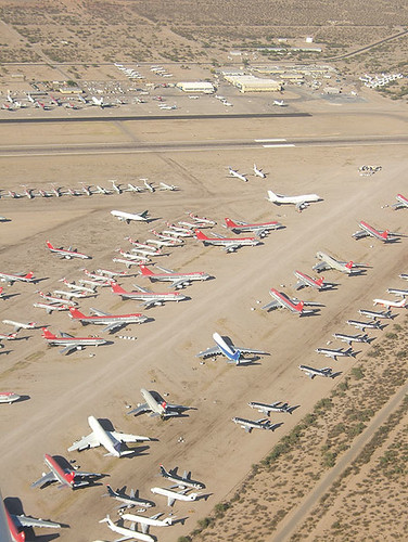 Pinal Airpark (Marana) with lot