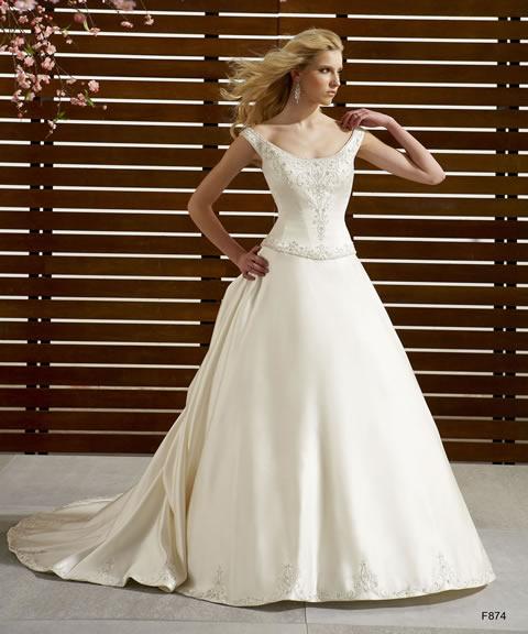 Vestidos de novia baratos-874A