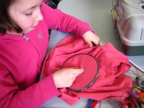 HomeSchoolSewers :: Embroidery