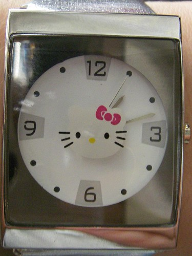 My hello kitty watch