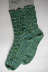 Finished Ripple socks