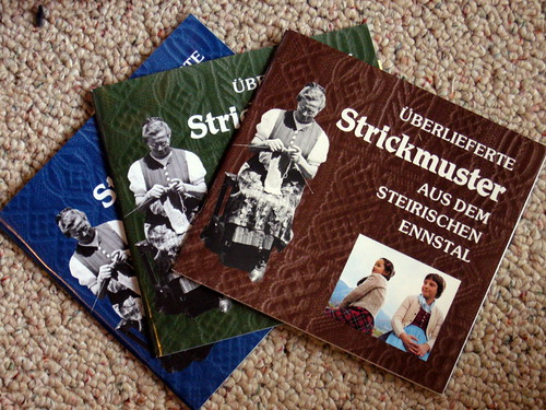 Bavarian Twisted Stitch Books