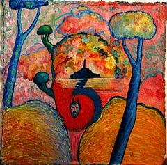 Quando i pensieri diventano paesaggio. (Enrico Luigi Delponte) Tags: art arte kunst picnik creativosaficionados
