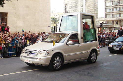 The Popemobile Is Pricey