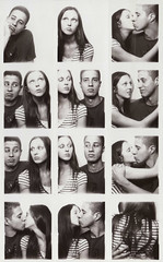 the whole story (jena ardell) Tags: boy blackandwhite cute love boyfriend girl kiss girlfriend couple photobooth rick jena story ricardo boymeetsgirl jenaardell