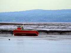 2008 05 Hewsall foreshore (Tony Shertila) Tags: beach boats dee wirral redboats