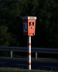 SOS SOS (realfragment) Tags: auto orange car sign hope call alone autobahn help freeway sos asphalt pgs zeichen hilfe hoffnung allein notrufsule emergencycall notruf strase sostelephone realfragment patrickgstoesser