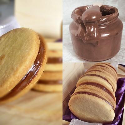 insieme di biscotti