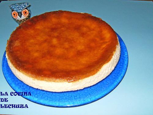 Tarta queso quark - entera clara