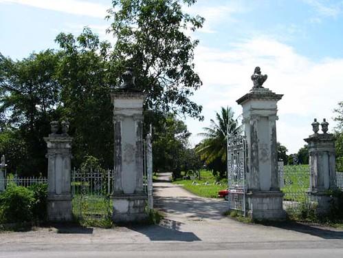 Bidadari Cemetery gates