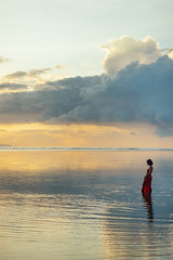 47/ 365 - Red (bady_qb) Tags: bali indonesia beach model reddress sanur 365 a7ii sony sonya clouds nature landscape portrait people sky explore 85mm 85mmf18 nikkor 500px