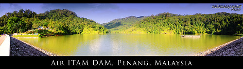 Air Itam Dam in Panorama #1