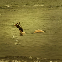 spectacle (brookeshaden) Tags: ocean sea selfportrait water seamonster brilliant seacreature sighting spectacle humanish brookeshaden