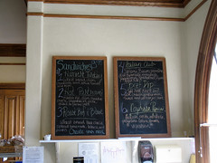 Ledson Winery Sandwich Menu