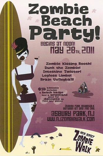 Zombie Beach Party, Asbury Park