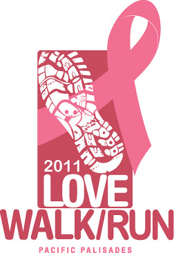 Sunday, 5/22 - LOVE Walk /Run for Breast Cancer Research