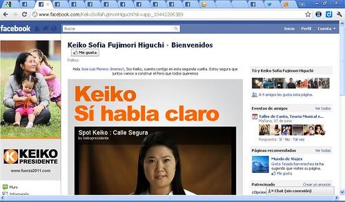 pagina oficial keiko