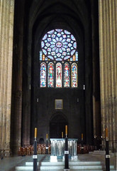 Chartres, North Rose and Altar