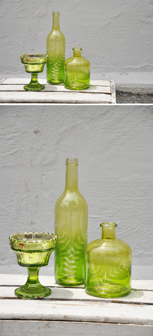 Green-Vases
