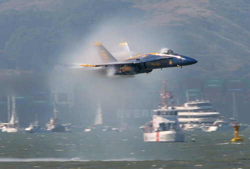 Blue Angel Shockwave