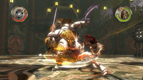 Heavenly Sword Combate