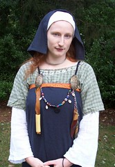 Updated Hngerok/Apron Dress (Ragnvaeig) Tags: sewing projects viking garb aprondress
