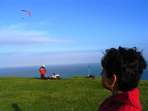 The Paragliding club in Brighton