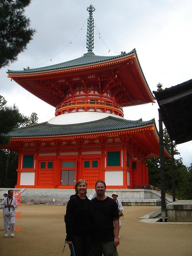 Rebecca and Al in Koyasan