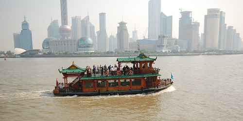 Tourist boat, Pudong, Shanghai