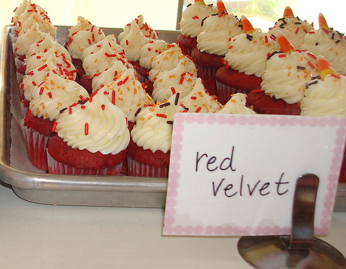 Red Velvet Cupcakes at Saint Cupcake