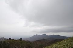 樽前山を望む