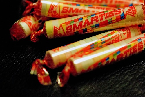 October 31 2007 day 20 - I got me Smarties for Halloween
