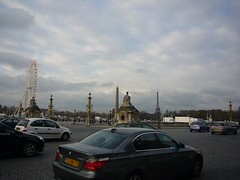 Paris traffic during transit strike
