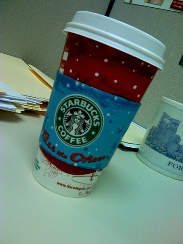 Peppermint Mocha: Made by Starbucks, delivered by Jenni