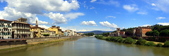 Arno River, Florence (jen890) Tags: travel italy panorama river florence exz750 firenze arno arnoriver