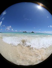 lanikai mokulua islands (Cory.Lum) Tags: hawaii interestingness fisheye lanikai mokuluaislands corylum
