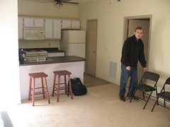 Nathan's new apartment