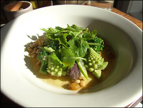 Ubuntu (Napa) - Broccoli with Pine Nut Pudding