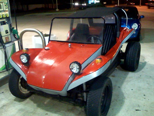 Dune Buggy's first fill-up