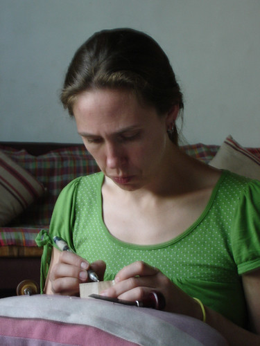 Melissa-at-work