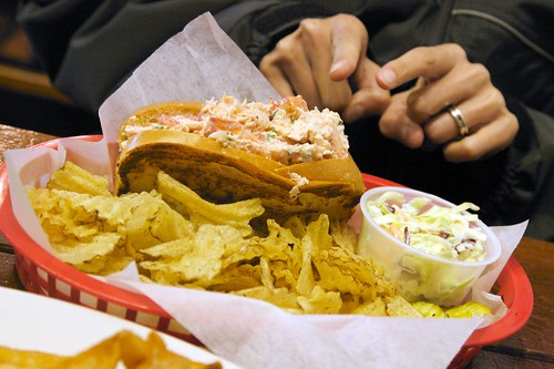 Lobster Roll - Old Port Lobster Shack