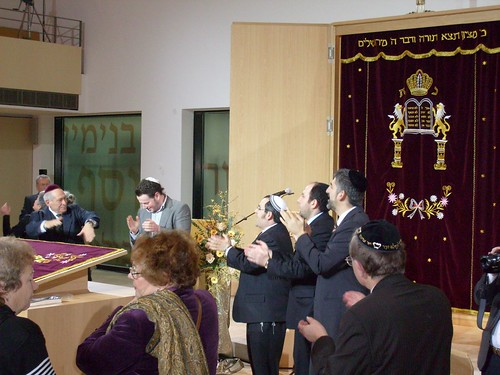 Einweihung der Synagoge Bochum - Dedication of the Bochum synagogue