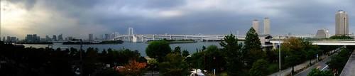 台場彩虹橋全景