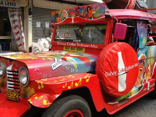 Coke Jeepney in Manila