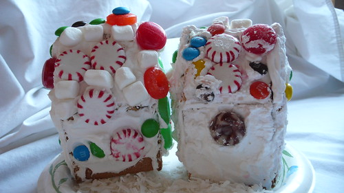 First gingerbread houses